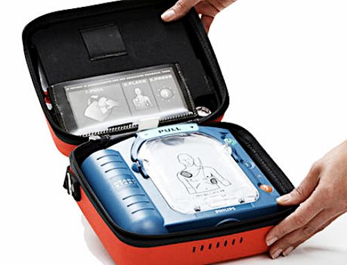 Purchase Your Life Saving Philips HeartStart Home Defibrillator (AED) at Palm Desert Resuscitation Education LLC (PDRE)